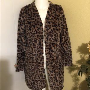 Jackets & Blazers - NWOT Leopard Jacket/Cardigan